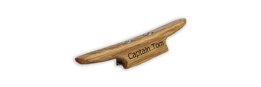 Boating Gift - Personalized Dock Cleat Bottle Opener