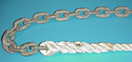 How To Do A Rope To Chain Splice – Anchoring.com