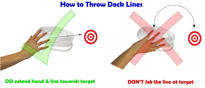 How to Throw Dock Lines