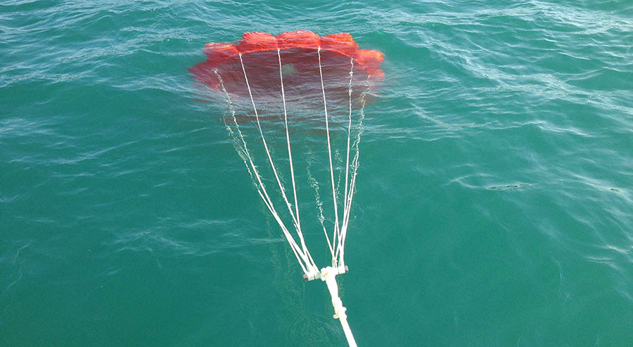 Sea anchor parachute