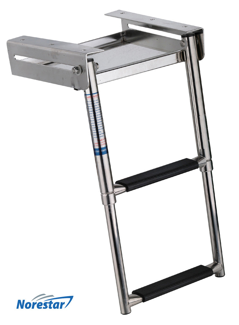 Underplatform/Slide Mount Boat Ladder - 2 Step