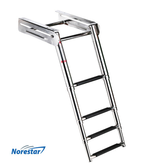 Underplatform/Slide Mount Boat Ladder - 4 Step