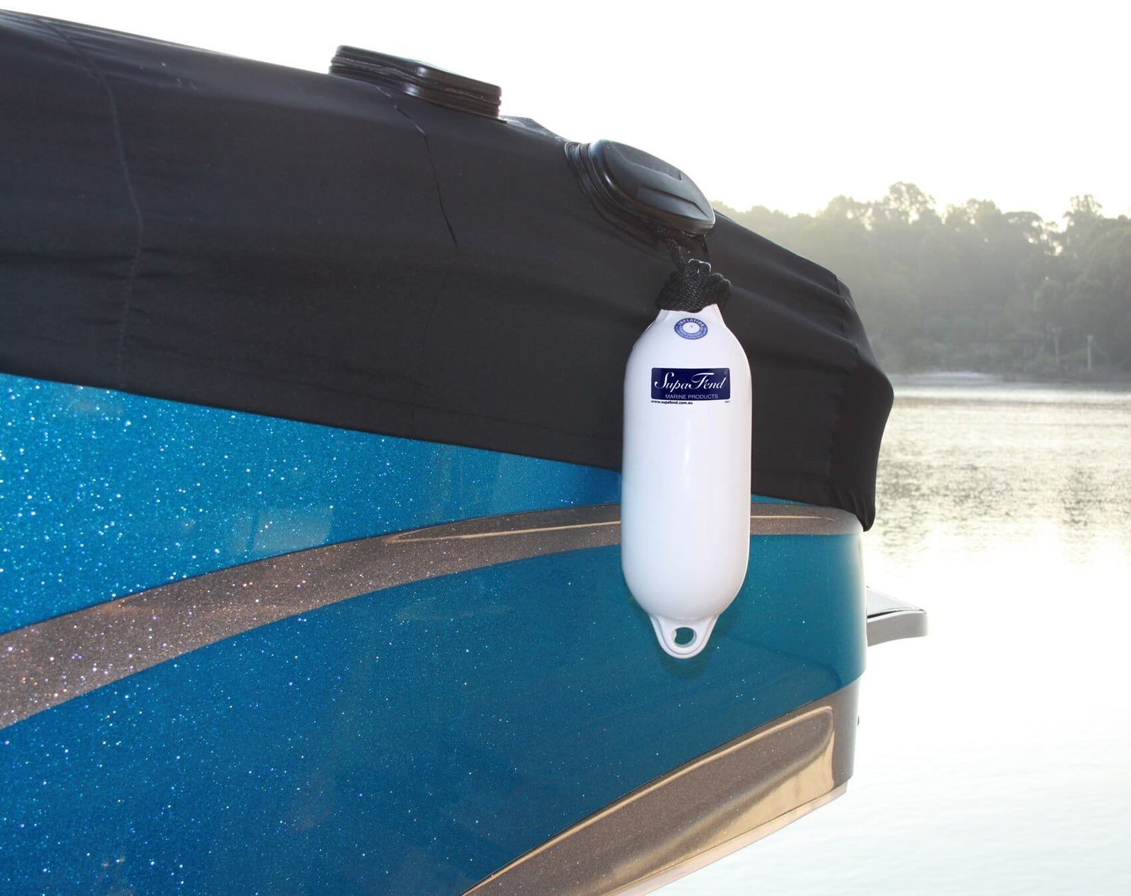 "SupaFend Boat Fender on Boat - 16""x5.5"" (5276012)"