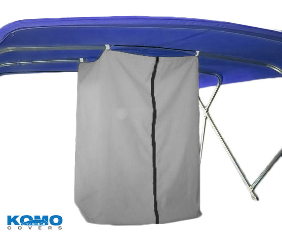 Komo Covers® 3-Bow Replacement Boat Bimini Cover And Storage Boot (Fabric Only)