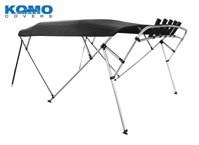 Komo Covers® Square Tube Pontoon 4-Bow Boat Bimini Top