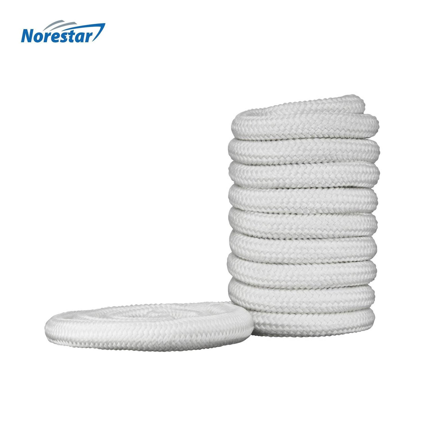 Norestar Braided Nylon Dock Line, White