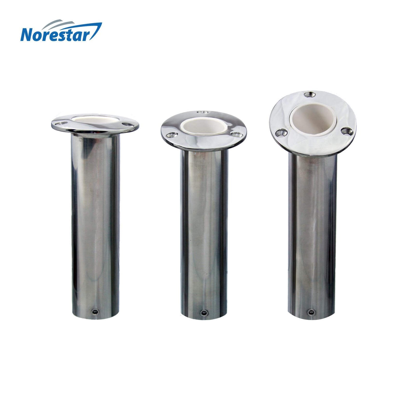 Flush Mounted Stainless Steel Rod Holders
