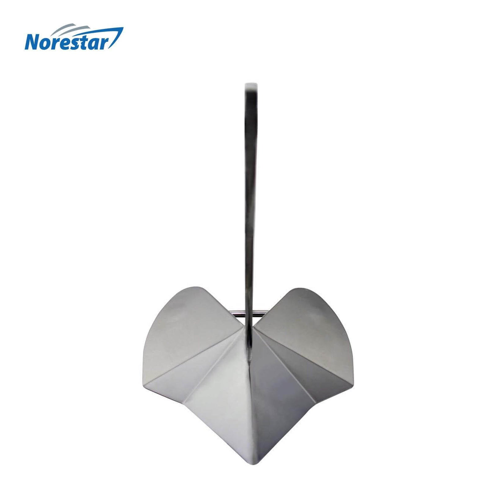 Stainless Steel Wing/Delta Boat Anchor by Norestar - Front