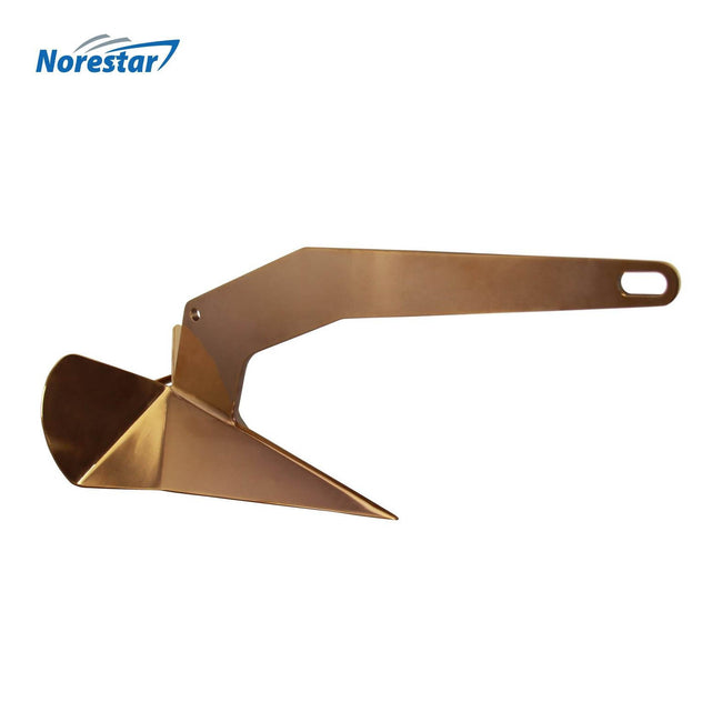 Norestar Stainless Steel Rainbow Wing-Style Boat Anchor Bronze