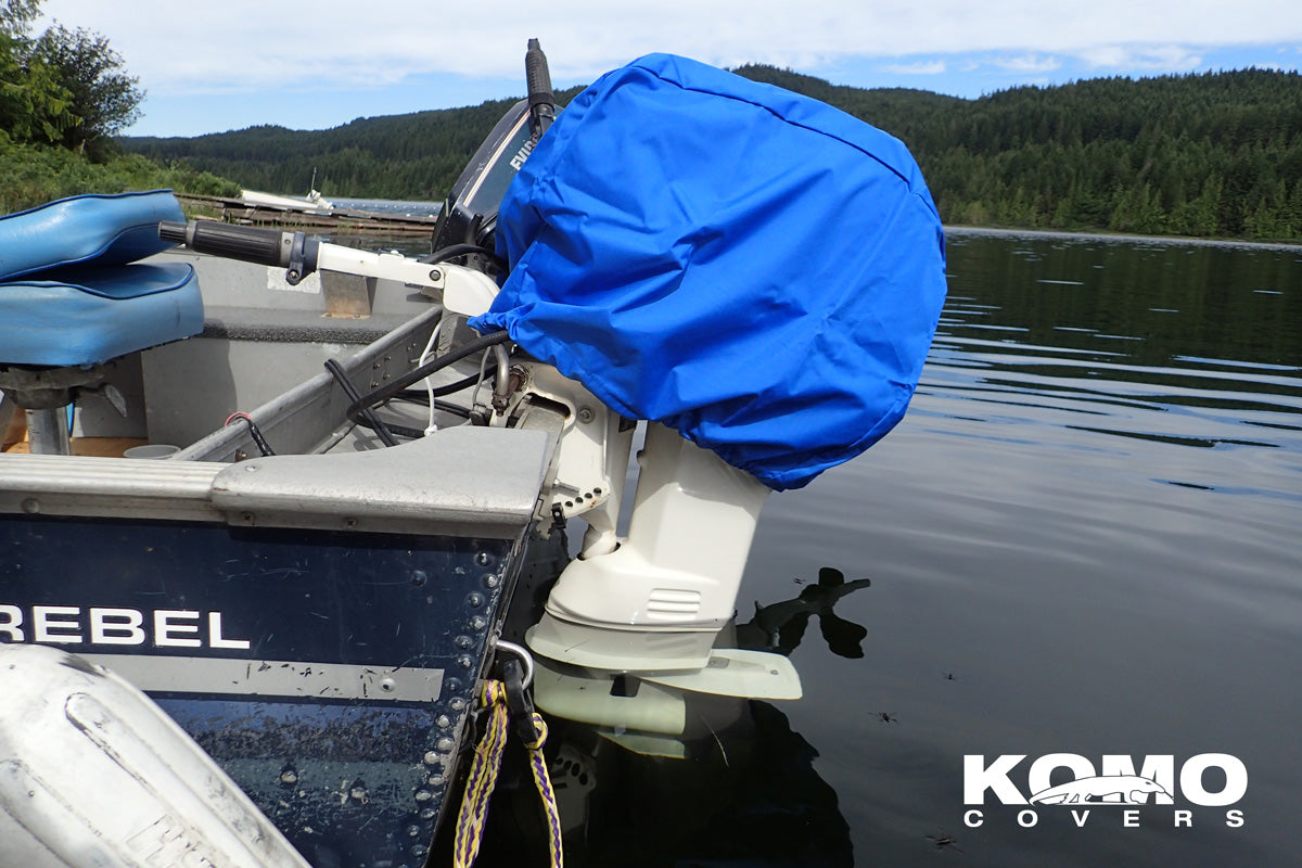 Outboard Motor Cover - Blue