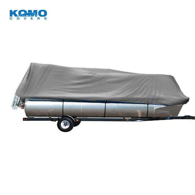 Pontoon Boat Cover - Grey