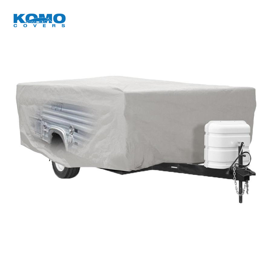 Pop Up Tent Trailer Camper Cover - Detail
