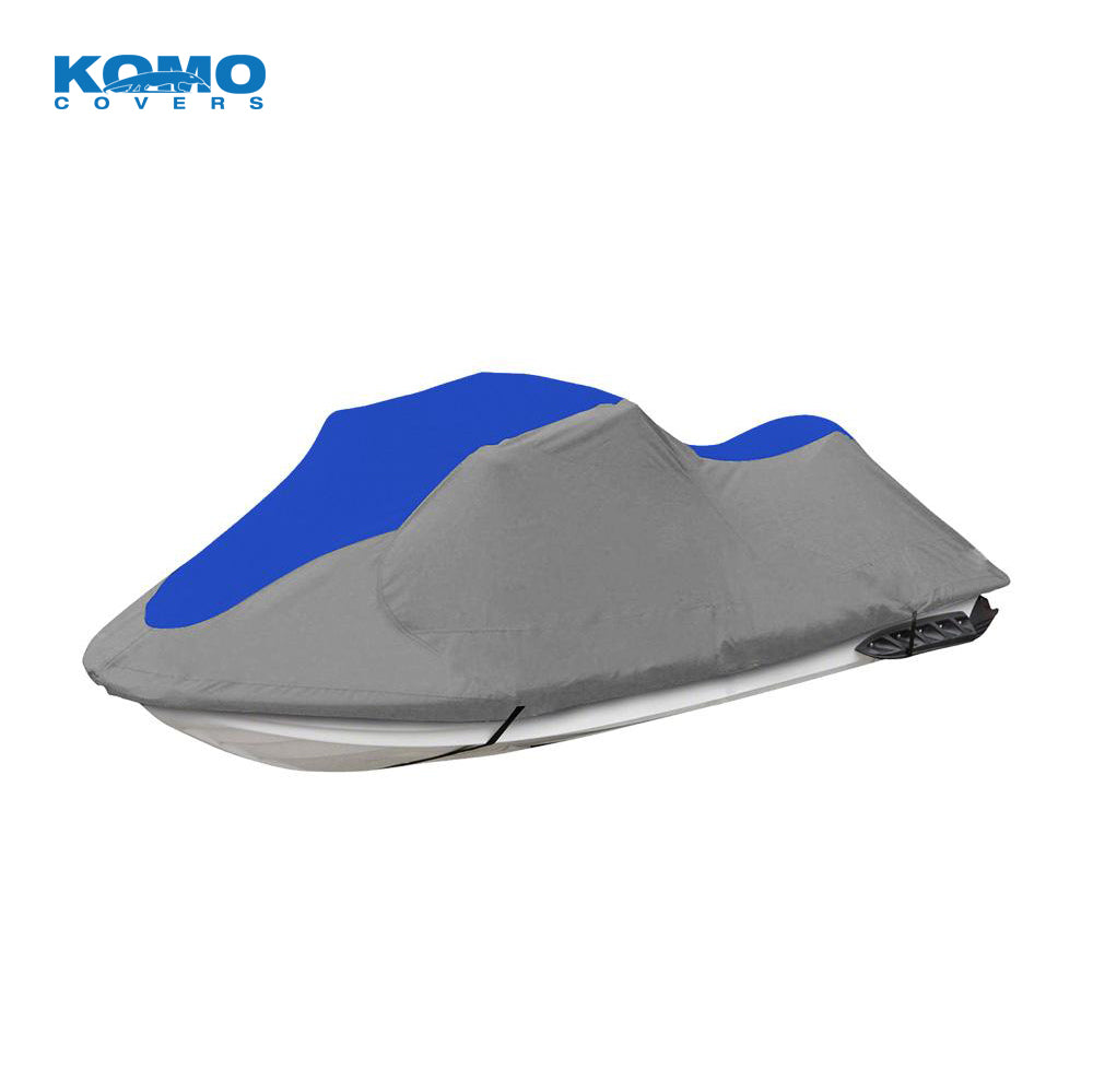 Personal Watercraft Cover, PWC Trailer/Storage Cover, Grey-Blue