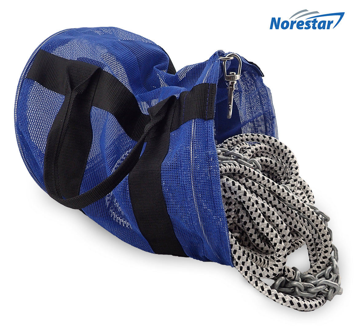 Mesh Anchor Rope & Chain Bag With Rode