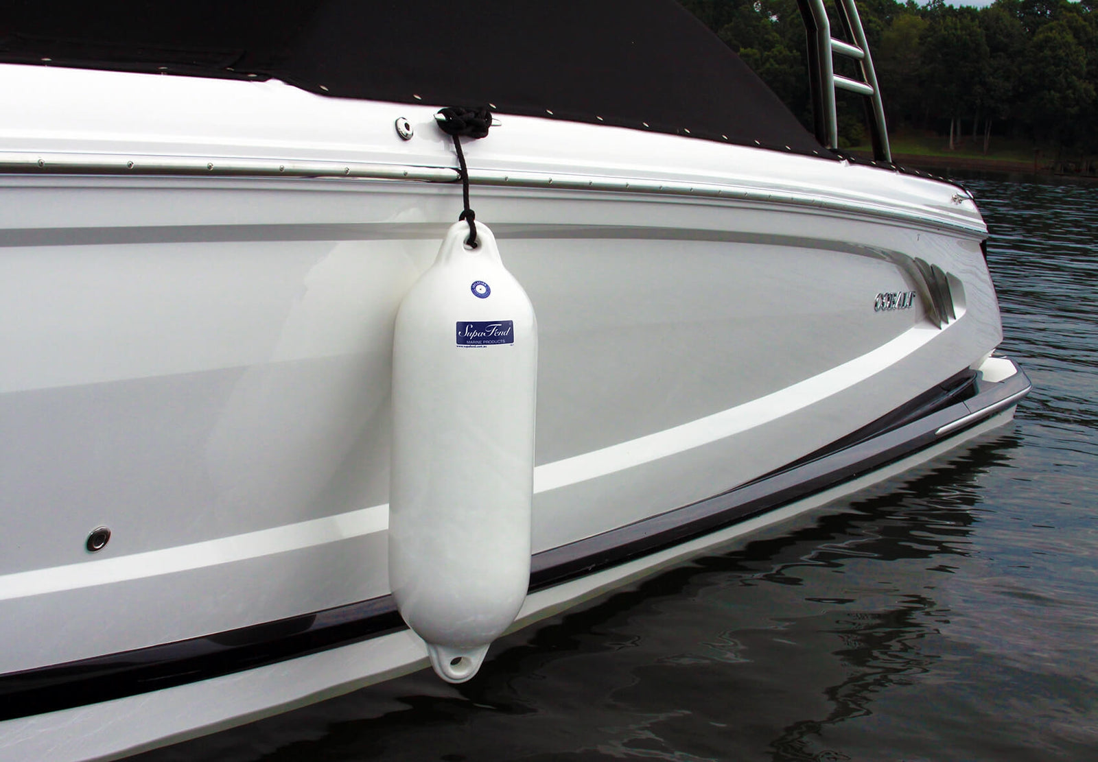 "SupaFend Boat Fender on Boat - 31.5""x10"" (5276018)"