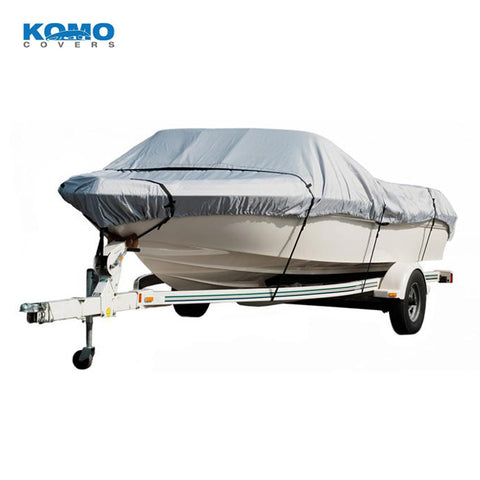 Jon Boat Cover for Storage / Transport, Heavy Duty (300D), Waterproof
