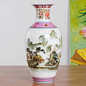 Pink And White Porcelain Vases- 3 Designs! - The Ru Store