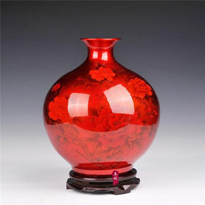 Modern Pomegranate Crystal Vases- 4 Designs! - The Ru Store