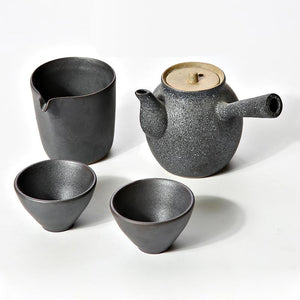 Modern 4 Piece Tea Set- 3 Different Colors! - The Ru Store