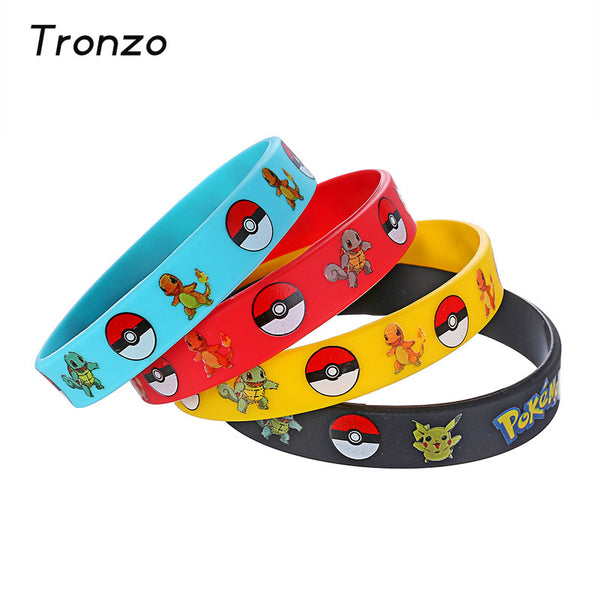 Pack de 4 bracelets Pokemon