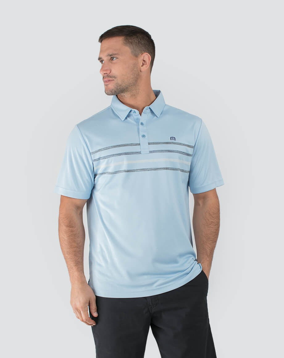Travis Mathews® Plautz Polo *MIN 6 QTY