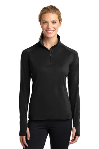 Sport-Tek® Ladies Sport-Wick® Stretch 1/2-Zip Pullover [ EVENT SAMPLE ]
