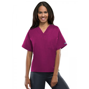 Cherokee Unisex Workwear V-Neck Tunic - 4777 - 1 Pocket *MIN 12 QTY