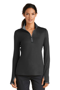 Nike Ladies Dri-FIT Stretch 1/2-Zip Cover-Up [ EVENT SAMPLE ]