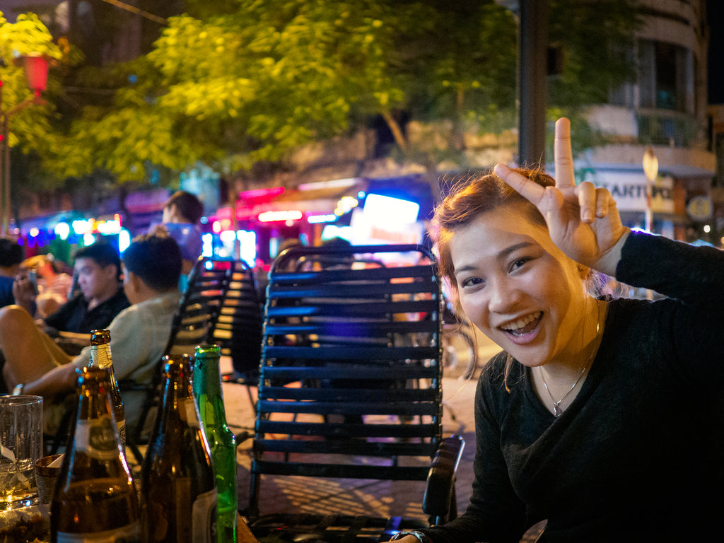 Saigon backpacker district