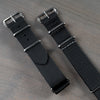 22mm Black ADPT Nylon Strap