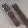 22mm Mil/Pilot Leather Straps