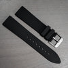 Solitude - black dial - DLC case - rubber strap