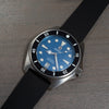 Solitude - blue dial - black bezel - rubber strap