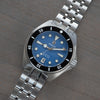 Solitude - blue dial - black bezel