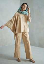 Fashion Muslim Streetwear Woman Pants