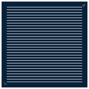 Le Bandana Blue Stripes, Bandana 60, Roujak Paris, Roujak