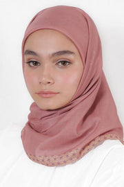 Le Hijab Blush, Carré 115 Plain, Roujak Paris, Roujak