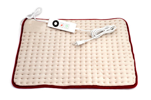 electric heating pad for pain relief