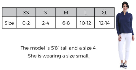 Pullover Size Guide