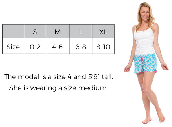 Women's Boxers Size Guide
