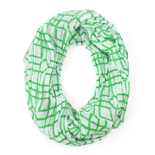 Isabelle Green Infinity Scarf