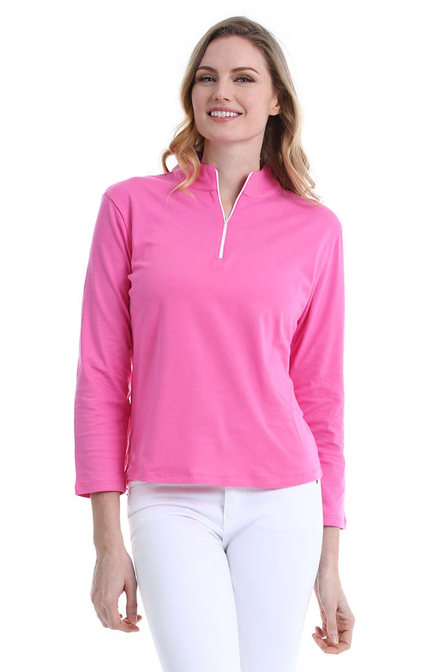 Pink Pull-Over Shirt