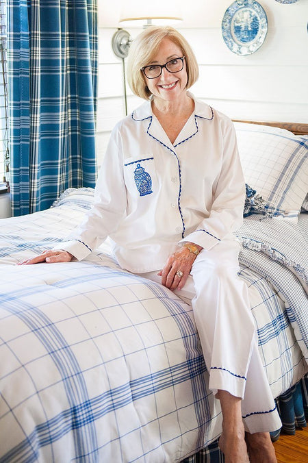 Spot-On Cotton Poplin Pajama Set