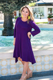 Plum Amalfi Dress