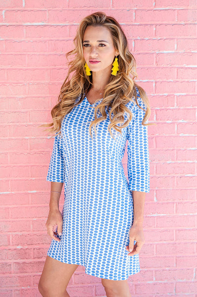 Maisie Blue Zanzibar Dress