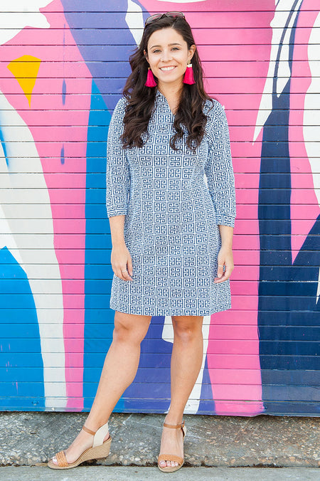 Maisie Blue Hamilton Dress