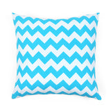 Chevron Blue Pillow Cover