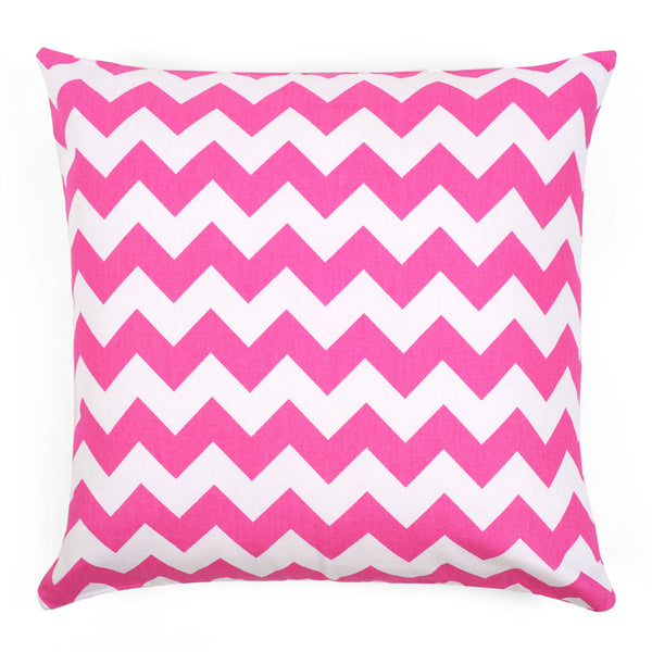 Chevron Pink Pillow Cover