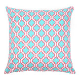 Chelsea Aqua Pillow Cover