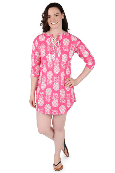 Paradise Pink Beach Cover Up